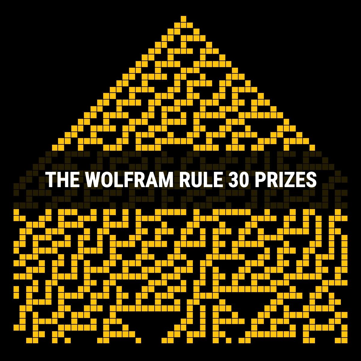 Wolfram Rule 30 Prizes